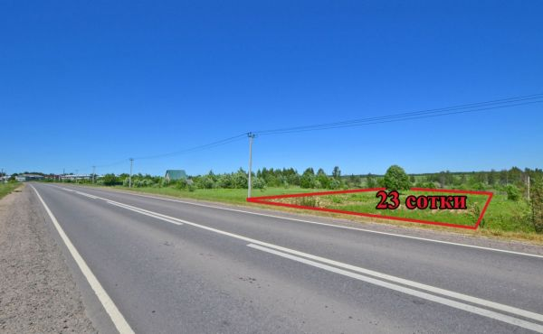 Участок 23 сотки в деревне Степаньково